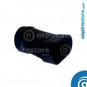 Adattatore slim linea ovale da tubo circolare Ø50 a ovale