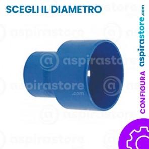 Aumento concentrico ABS diametro 50-63-80 aspirazione centralizzata