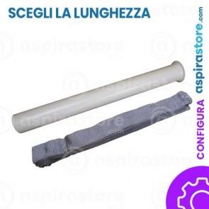 Set rivestimento protezione tubo flessibile aspirapolvere centralizzato