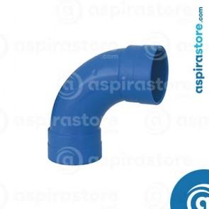 Curva PVC Ø100 FF 90° largo raggio