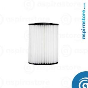 Filtro cartuccia in poliestere lavabile 18X13,2 per aspirapolvere centralizzato