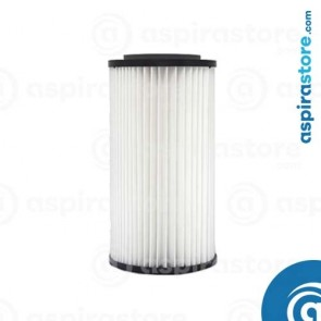 Filtro cartuccia in poliestere lavabile 30X16 Ø8 per aspirapolvere centralizzato