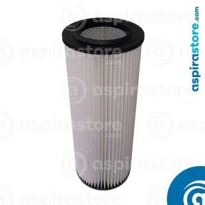 Filtro cartuccia poliestere 60,5X22 Ø12,5 per separatore LT70