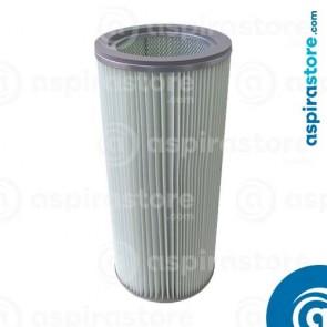 Filtro cartuccia poliestere 60X27 Ø18,5 per separatore LT100