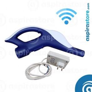 Impugnatura wireless completa di ricevente per tubo aspirazione tradizionale Ø32
