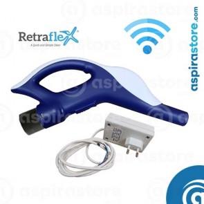 Impugnatura wireless completa di ricevente per tubo a scomparsa Ø3