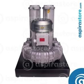 Modulo aspirante TR40M 7,5 Kw 380V per 4 operatori con basamento e quadro elettrico