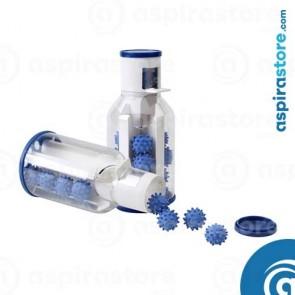 Confezione palline gomma pulizia tubi impianto aspirazione centralizzato