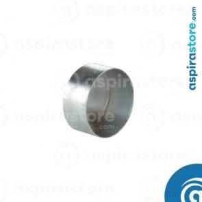 Tappo in acciaio zincato Ø100