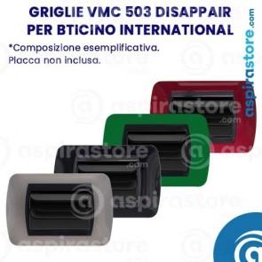 Composizione griglie vmc 503 Disappair per Bticino Living International