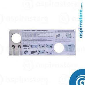 Coperchio completo di cavi per raccordo scatola SCAZCV centrale Electrolux ZCV750 Etage