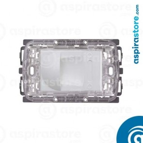 Presa aspirante per Ave Sistema 44 Domus e Touch bianco lucido