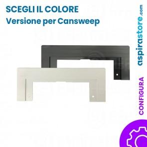 Placca cornice per perimetro bocchetta Cansweep-Vacusweep