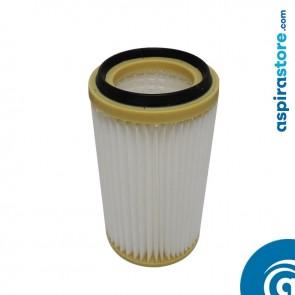 Filtro cartuccia per centrali AirBlu AD110-115, AB115, PG115 in poliestere lavabile 24,5X13 Ø8