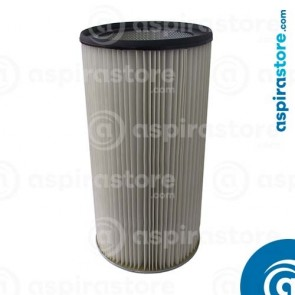 Filtro cartuccia poliestere 68,5X35 Ø25 per separatore polveri LT150 senza autopulizia
