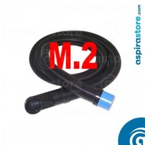 Flessibile 2 metri per collegamento bocchetta zoccolo cucina aspirapolvere VacPan