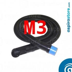 Flessibile 3 metri per collegamento bocchetta zoccolo cucina aspirapolvere VacPan