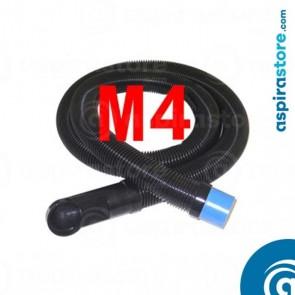 Flessibile 4 metri per collegamento bocchetta zoccolo cucina aspirapolvere VacPan