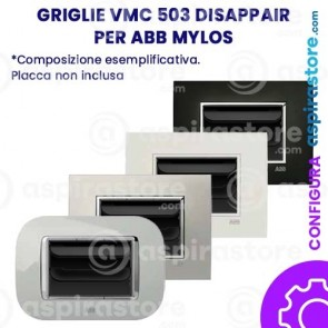 Griglia vmc Disappair 503 per ABB Mylos