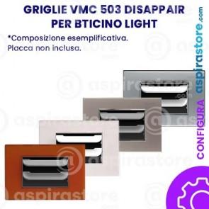 Griglia vmc Disappair 503 per Bticino Light