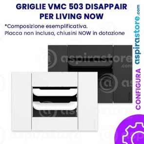 Griglia vmc Disappair 503 per Bticino Living Now