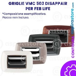 Griglia vmc Disappair 503 per FEB Life