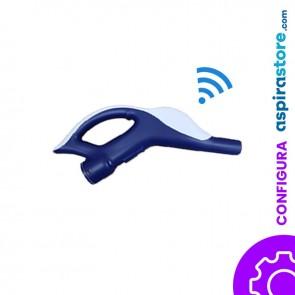 Impugnatura wireless di ricambio per tubo aspirazione centralizzato (senza ricevente)
