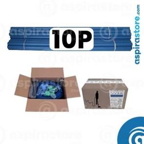 Kit predisposizione aspirazione centralizzata 10 punti presa diametro 50