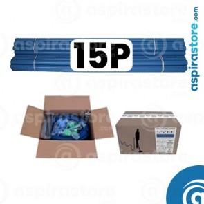 Kit predisposizione aspirazione centralizzata 15 punti presa diametro 50