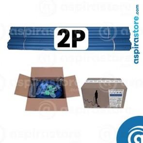 Kit predisposizione aspirazione centralizzata 2 punti presa diametro 50