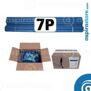 Kit predisposizione aspirazione centralizzata 7 punti presa diametro 50