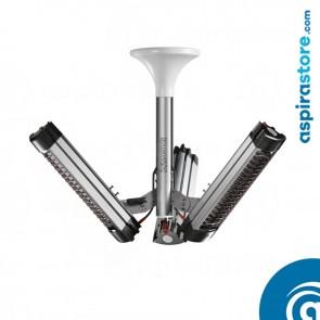 Vortice KIT STB System per installazione installazione in verticale a soffitto di 1, 2 o 3 Uvlogika