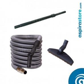 Kit accessori standard per aspirapolvere centralizzato mt 9