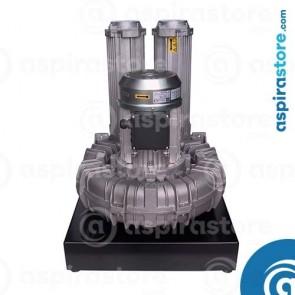 Modulo aspirante TR20M 4,0 Kw 380V per 2 operatori con basamento e quadro elettrico
