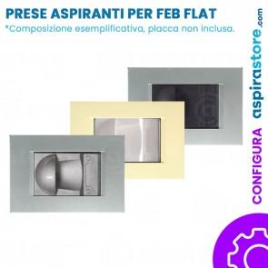 Composizione placche presa aspirante per FEB Flat