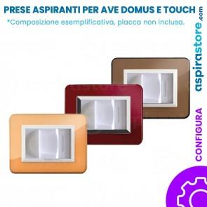 Presa aspirante per Ave Sistema 44 Domus Touch