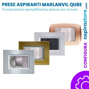 Composizione placca presa aspirante per Marlanvil Qube