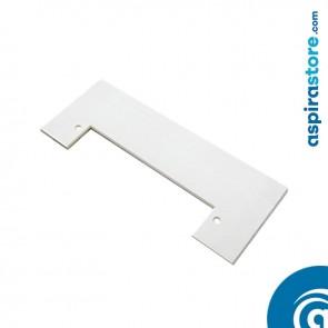 Placca cornice bianco per perimetro bocchetta Vacpan su soluzioni a incasso