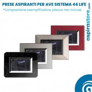 Composizione bocchette aspiranti per Ave Sistema 44 Life