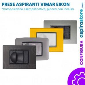 Composizione placche presa aspirante per Vimar Eikon