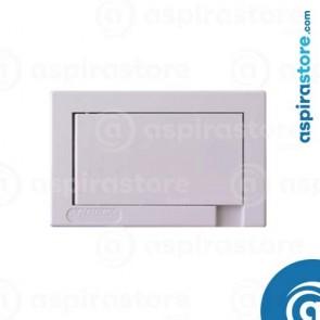 Presa aspirante Aertecnica Tech Active con serratura Ø40 bianca