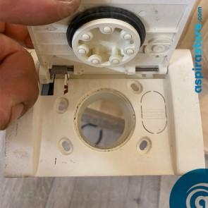 Presa aspirante monoblocco Airblu bianca serie contact cod PR465