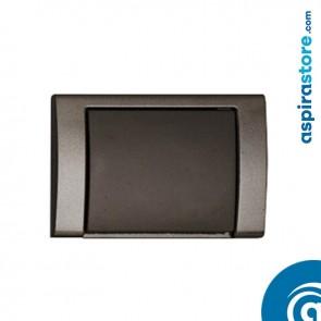 Presa aspirante monoblocco Airblu nera serie contact cod PR466