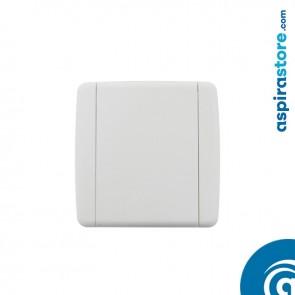 Presa aspirante Elek con contatti in PVC bianco Ø32