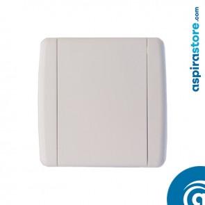 Presa aspirante Elek PVC bianco con contatti diametro 32