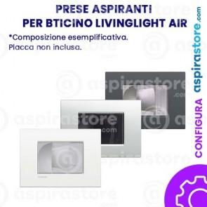Presa aspirante per Bticino Livinglight AIR