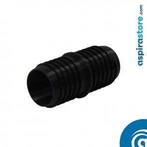 Raccordo doppio filetto per giunzione tubo flessibile Ø38 aspirazione centralizzata
