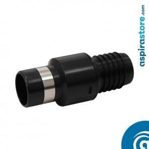 Raccordo per connettore tubo-presa con anello, filettato per tubo flessibile Ø38 interno