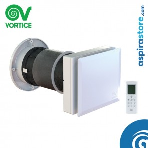 Recuperatore di calore Vortice VORT HRW 40 MONO EVO HCS 12437 con telecomando