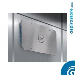 Sanificatore d'aria Baraldi Airò Lift Inox per ascensori